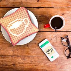 Toasteroid 智能烤面包机 一指烙印金黄蜜语
