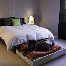 自制床底狗窝的方法 木制床底狗窝DIY教程