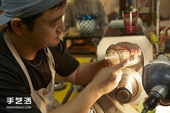 当星巴克遇上日本江户传统手工玻璃工艺! -  www.shouyihuo.com