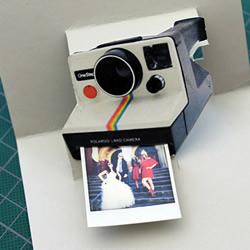 自制宝丽来相机立体贺卡的方法步骤图解