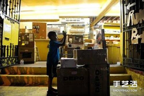 史上最强过家家 9岁男孩教你自己盖游乐场 -  www.shouyihuo.com