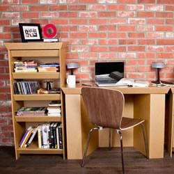 瓦楞纸家具制作图片 手工瓦楞纸做家具的