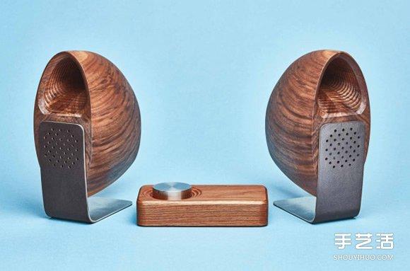 聽見汪洋的迴響 Grovemade的木製海螺喇叭