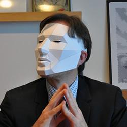 立体纸雕面具的做法 派对用卡纸面具手工制作