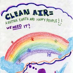 热爱地球小朋友环保海报 童趣生态儿童画报