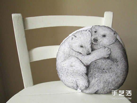 精緻手做動物抱枕 準備好要抱緊處理了嗎~