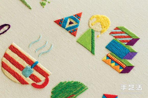 前衛設計與傳統手工刺繡結合 感受全新的美好