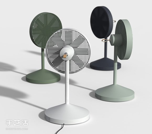 好拆好收的Conbox電風扇 節省空間的創意設計