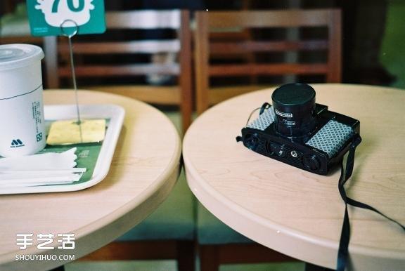 舊相機改造翻新DIY 膠帶紙改造相機的方法