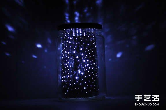 星光瓶製作方法 玻璃瓶做星光瓶過程步驟圖解