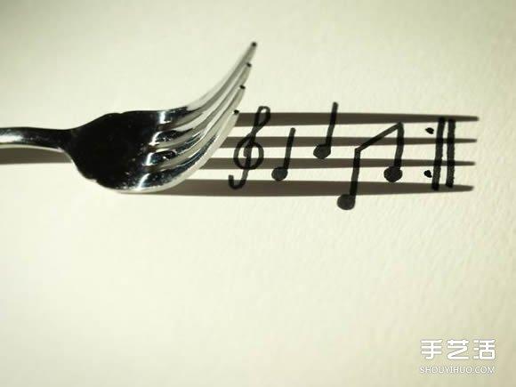 创意影子画的画法 儿童影子画作品图片 -  www.shouyihuo.com