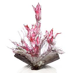 创意树脂雕塑作品:溅起瞬间凝结的生命力