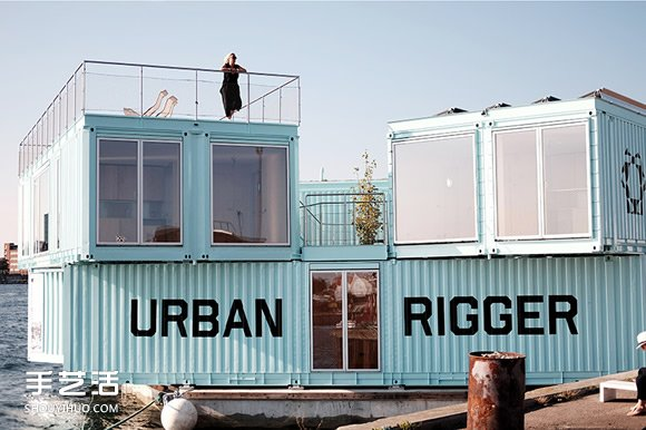 漂浮在港湾之上的集装箱房 学生们的平价宿舍 -  www.shouyihuo.com