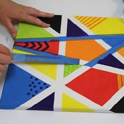 幼儿装饰画手工制作 简单又好看装饰画DIY教程
