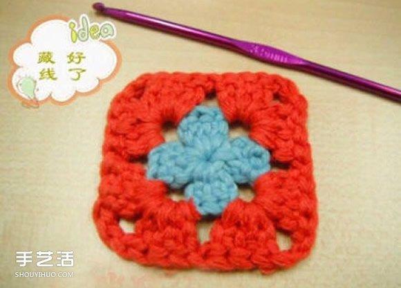 溫暖的鉤針杯墊編織教程 最適合天涼季節用啦~