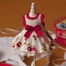 手工制作芭比娃娃裙子 迷你洋娃娃裙DIY教程