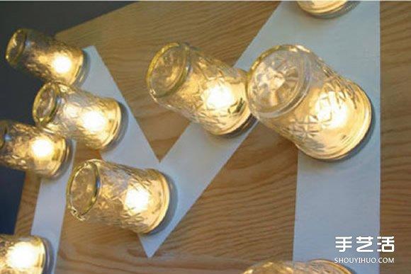 自製M形裝飾燈具的方法 DIY燈飾製作圖解教程