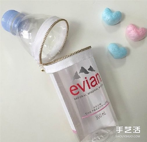 簡單塑料瓶廢物利用做手工的方法圖片