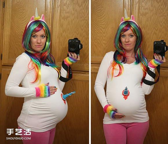 孕妈咪的万圣节时尚打扮 你准备好了吗! -  www.shouyihuo.com