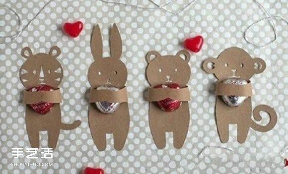 幼儿糖果图片手工制作