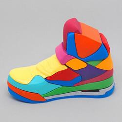 七彩拼图解构既有概念 拼凑自己的Jordan鞋!
