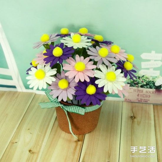 有爱的不织布作品欣赏 治愈系手工布艺图片 -  www.shouyihuo.com