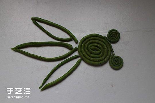 豆贴画作品大全_幼儿园小朋友利用水果蔬菜制作的拼贴画图案_手艺活网