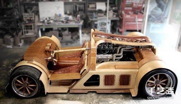 極速386公里!媲美藝術品的木製超級跑車