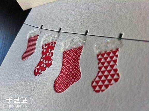 毛线手工制作_幼儿园环境创设图片之圣诞节挂饰DIY方法_手艺活网