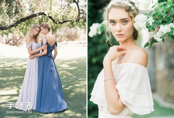 Joanna August唯美婚服 伴娘裙也能充滿仙氣