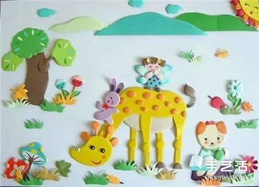 边看作品边了解:让孩子们玩手工有什么好处 -  www.shouyihuo.com