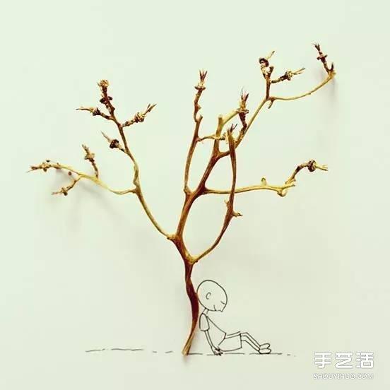 生活中的小創意DIY圖片 簡單手繪的神奇魔法