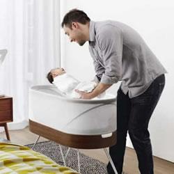 Snoo智能婴儿床设计 爸妈总算也能一夜好眠
