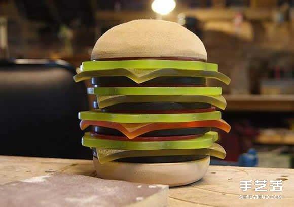 心酷爱又却口?堵满美式干风的汉堡灯概念设计 -  www.shouyihuo.com