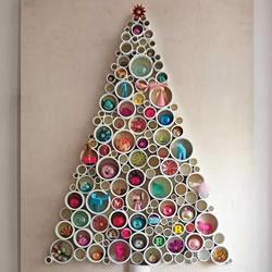 简易圣诞树制作方法 DIY大型圣诞树制作教
