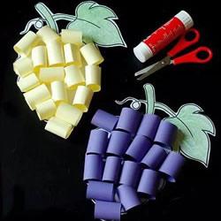 简单立体葡萄制作方法 幼儿葡萄的做法教