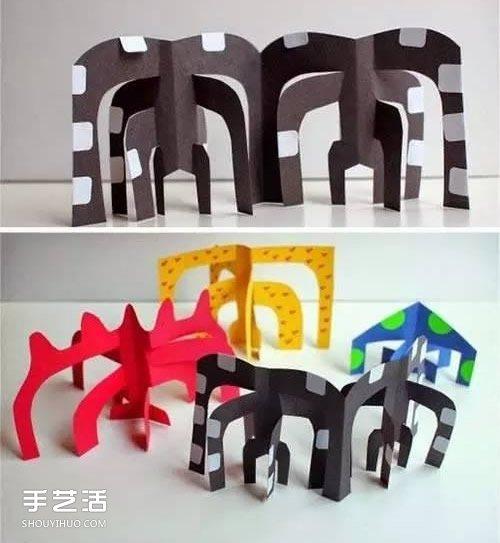 幼儿卡纸小制作图片 简单卡纸手工制作大全 -  www.shouyihuo.com