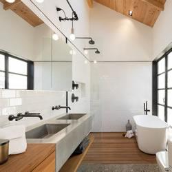 10个极简主义卫浴空间 心中的梦幻浴室设计