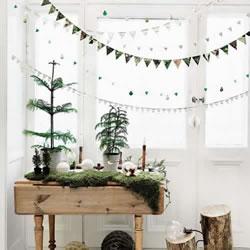 不一定要华丽绚烂 北欧极简风格圣诞家居