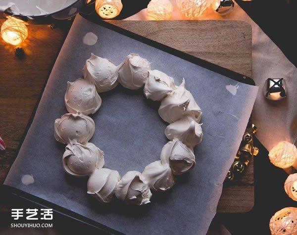 貌美应节的圣诞花环DIY 节日宴客的完美点心 -  www.shouyihuo.com