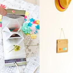 分隔收纳袋手工DIY制作 自制小玩意收纳袋方法