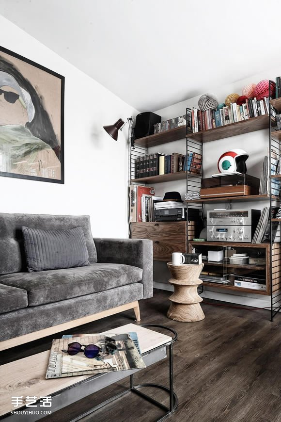 知性點綴:伊斯坦堡40平米小公寓的空間設計