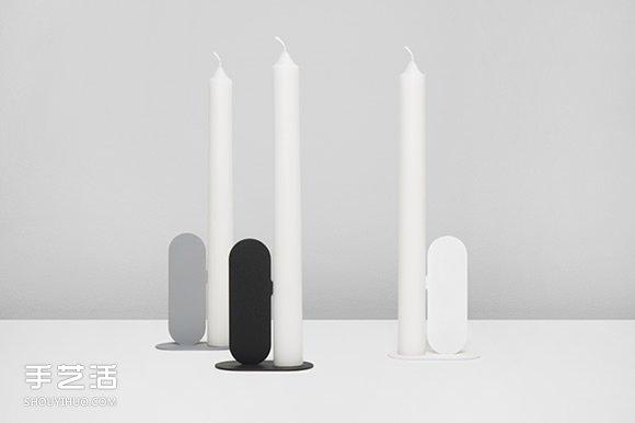 鼻子尖尖的燭台設計 讓蠟燭不會歪腰倒地