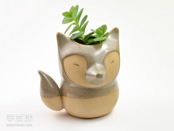 纯手工打造迷你花盆 小巧可爱的陶艺龙都娱乐品 -  www.shouyihuo.com
