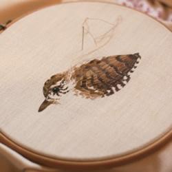 美好的动物刺绣作品 手工刺绣动物图片欣赏