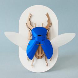 3D昆虫纸雕 通过拼图让你找回手作的乐趣
