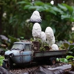逼真的粘土蘑菇作品欣赏 看着好治愈啊!