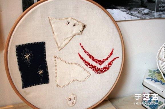 美好的动物刺绣作品 手工刺绣动物图片欣赏 -  www.shouyihuo.com