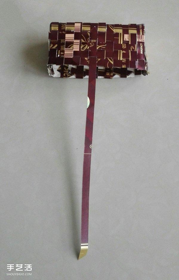 简单纸篮子怎么折图解 纸篮子折法步骤图片 -  www.shouyihuo.com