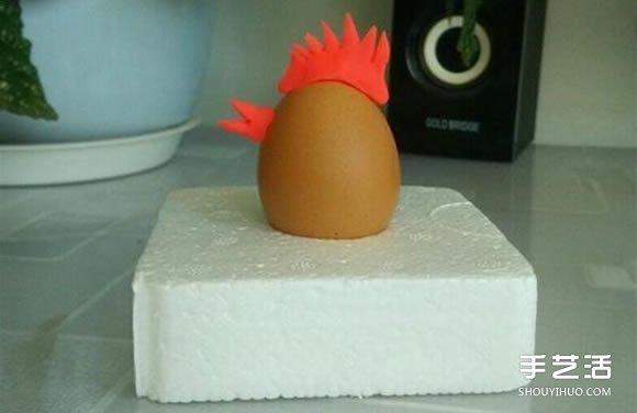 幼兒園小公雞手工製作 橡皮泥做小雞的教程